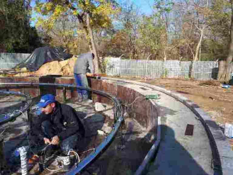 В Одессе продолжается реконструкция фонтанов