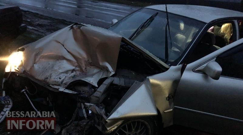 В ДТП на на трассе Одесса-Рени пострадали женщина и двое детей