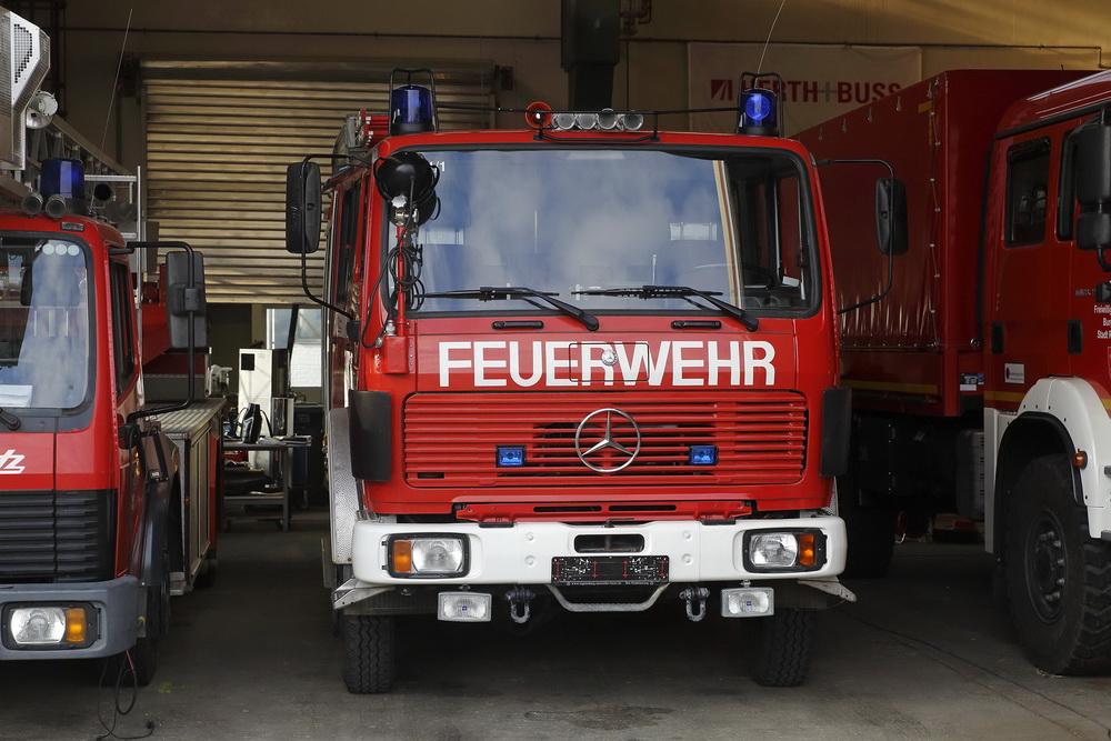 Регенсбург подарил одесским спасателям пожарную автоцистерну