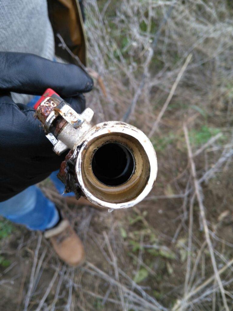 В Одесской области обнаружили два трубопровода для перекачки спирта