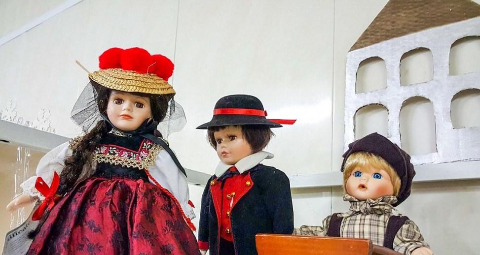 В Одессе проходит выставка игрушек прошлого века