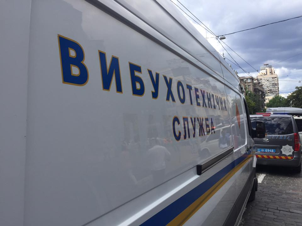 Полиция ищет бомбу на Преображенской