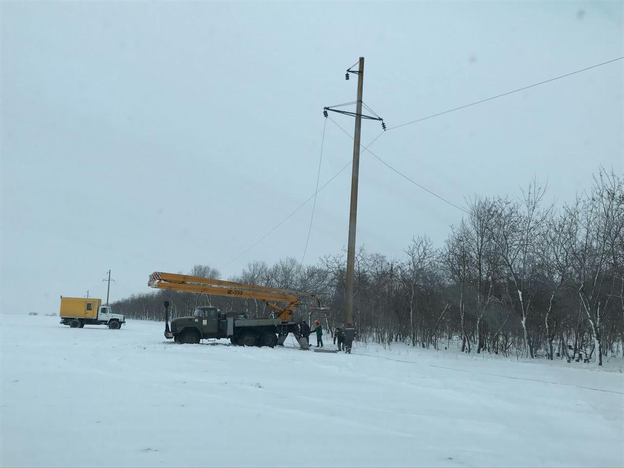 В Одесской области без света остаются 79 населенных пунктов