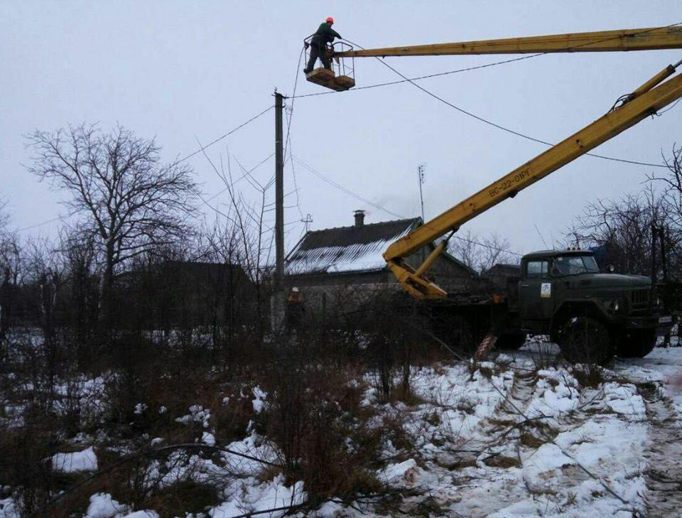 Еще 46 населенных пунктов Одесской области остаются без света