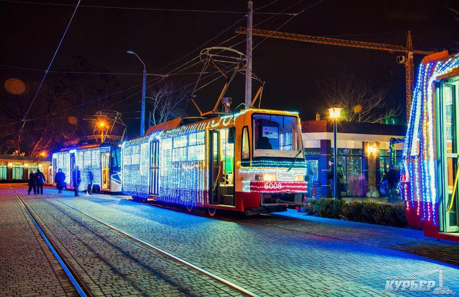 В Одессе состоится Рождественский парад трамваев