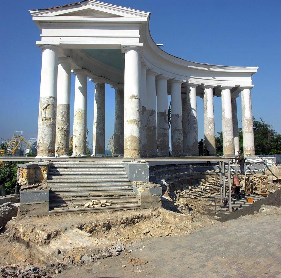 Под Воронцовской колоннадой откроют музей