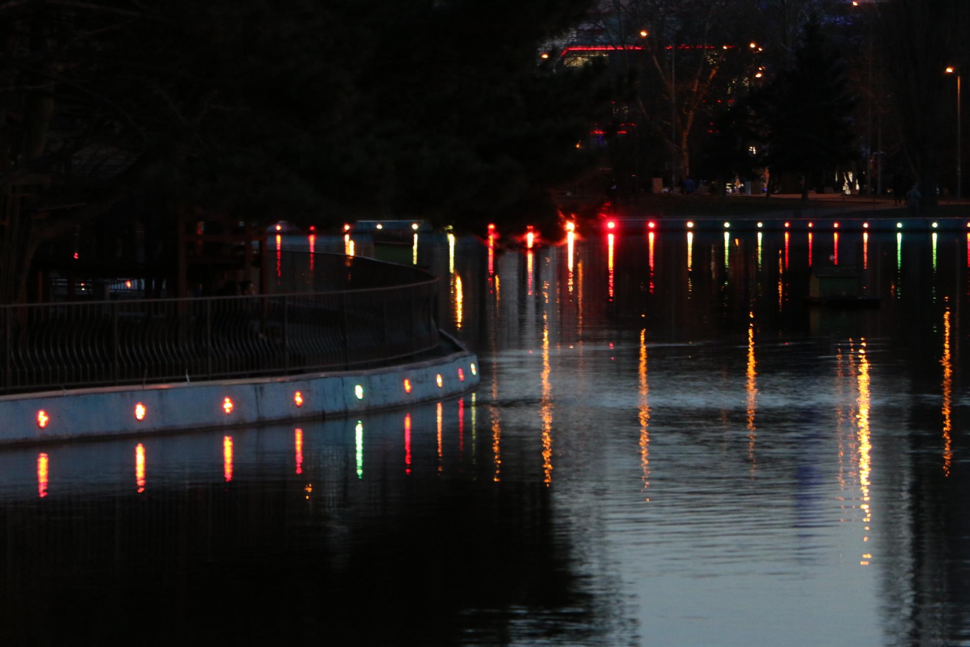 В Одессе появился «Сказочный пруд»