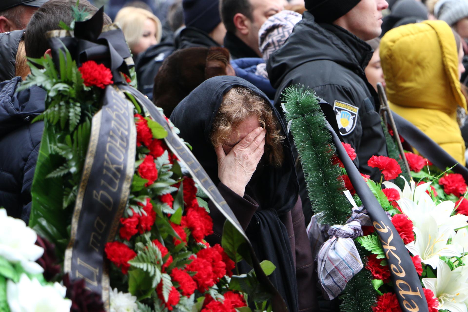 Одесситы простились с погибшим полицейским