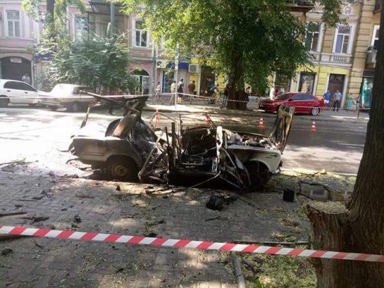 В суд направили обвинительный акт в отношении парня, который организовал взрыв автомобиля на Жуковского