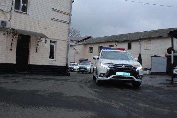 Одесские полицейские-спецназовцы получили новые внедорожники