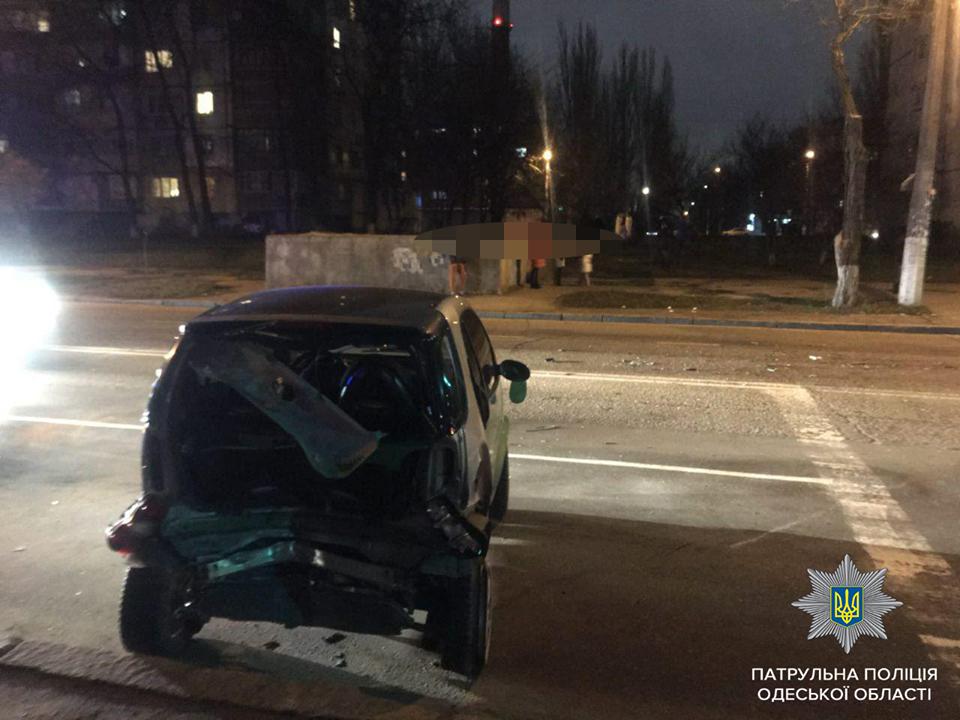 ДТП на поселке Котовского: пьяный водитель «Mitsubishi» врезался в «Smart»