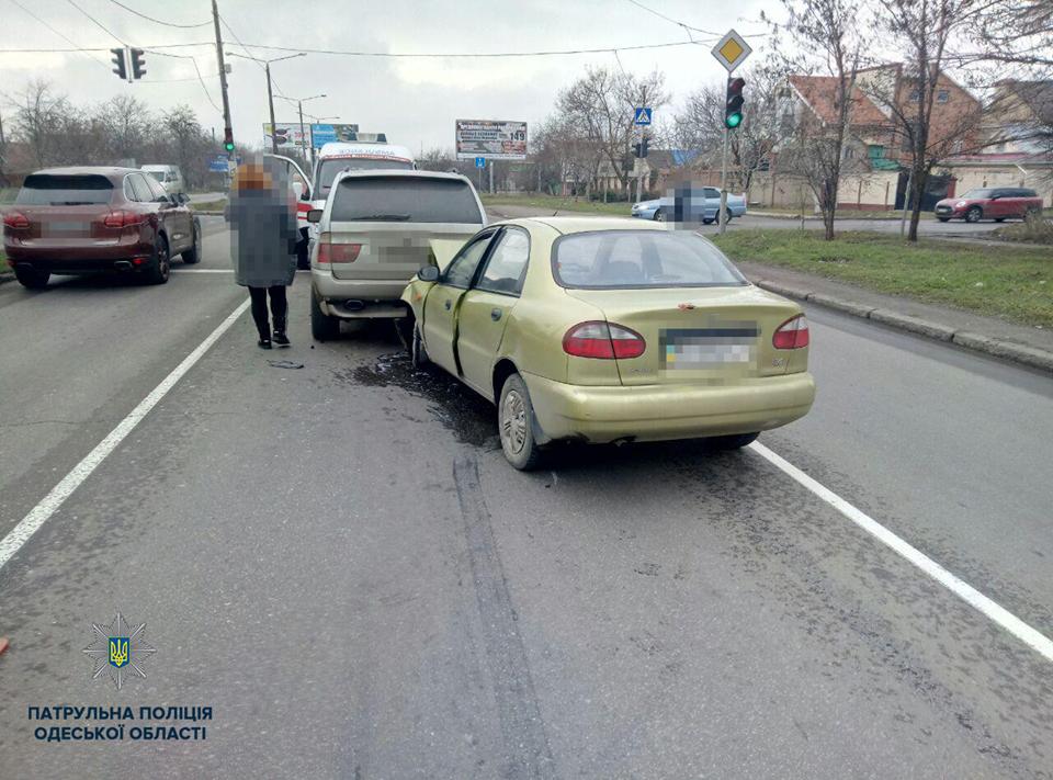 ДТП на поселке Котовского: есть пострадавший