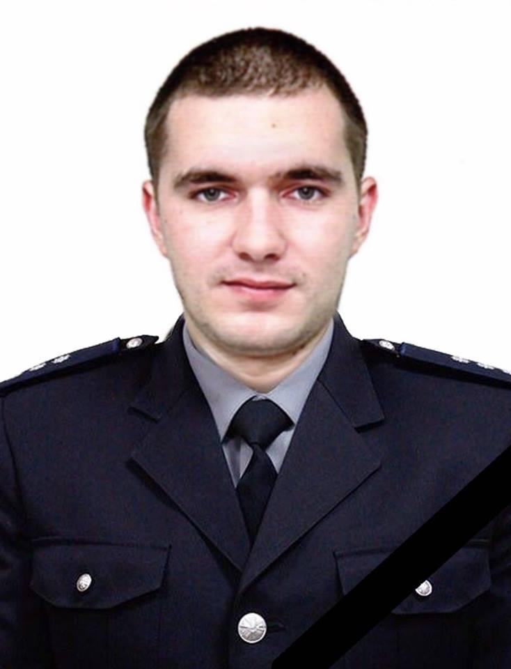 Стрельба на Новосельского: мэрия выделила жене погибшего полицейского 100 тысяч гривен на похороны