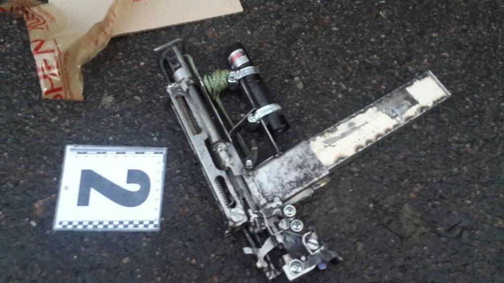 У мужчины, открывшего стрельбу на Новосельского, нашли тайник с оружием
