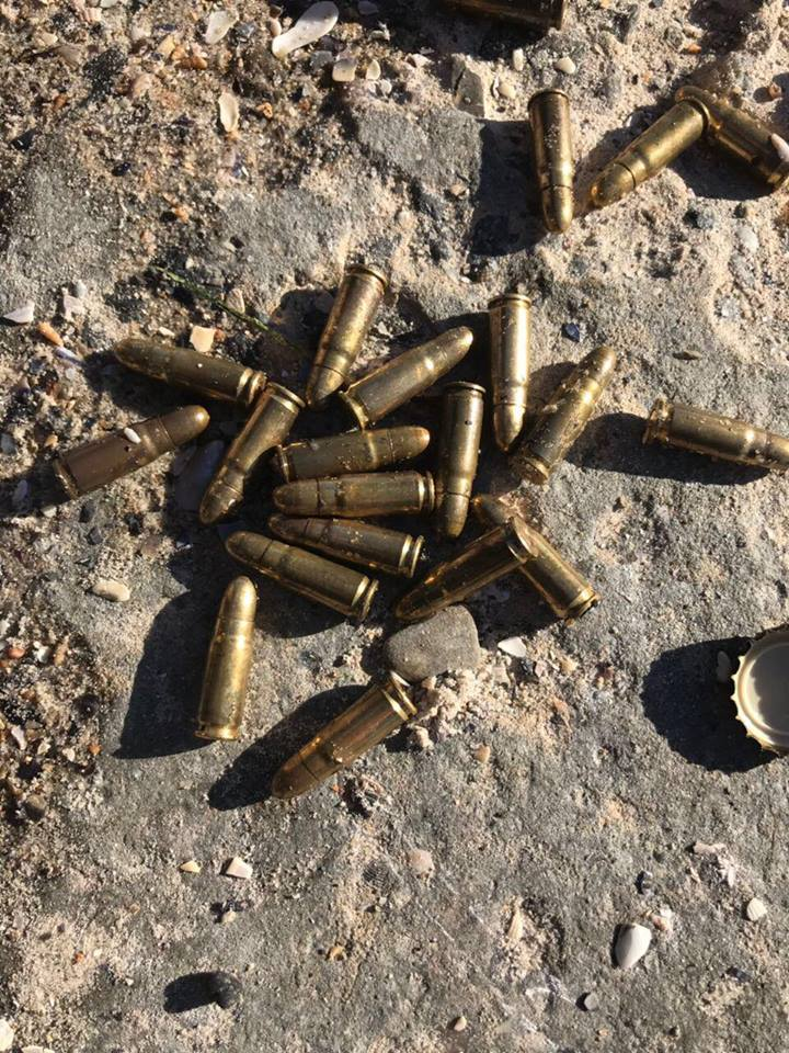 Одесситы нашли на побережье боеприпасы