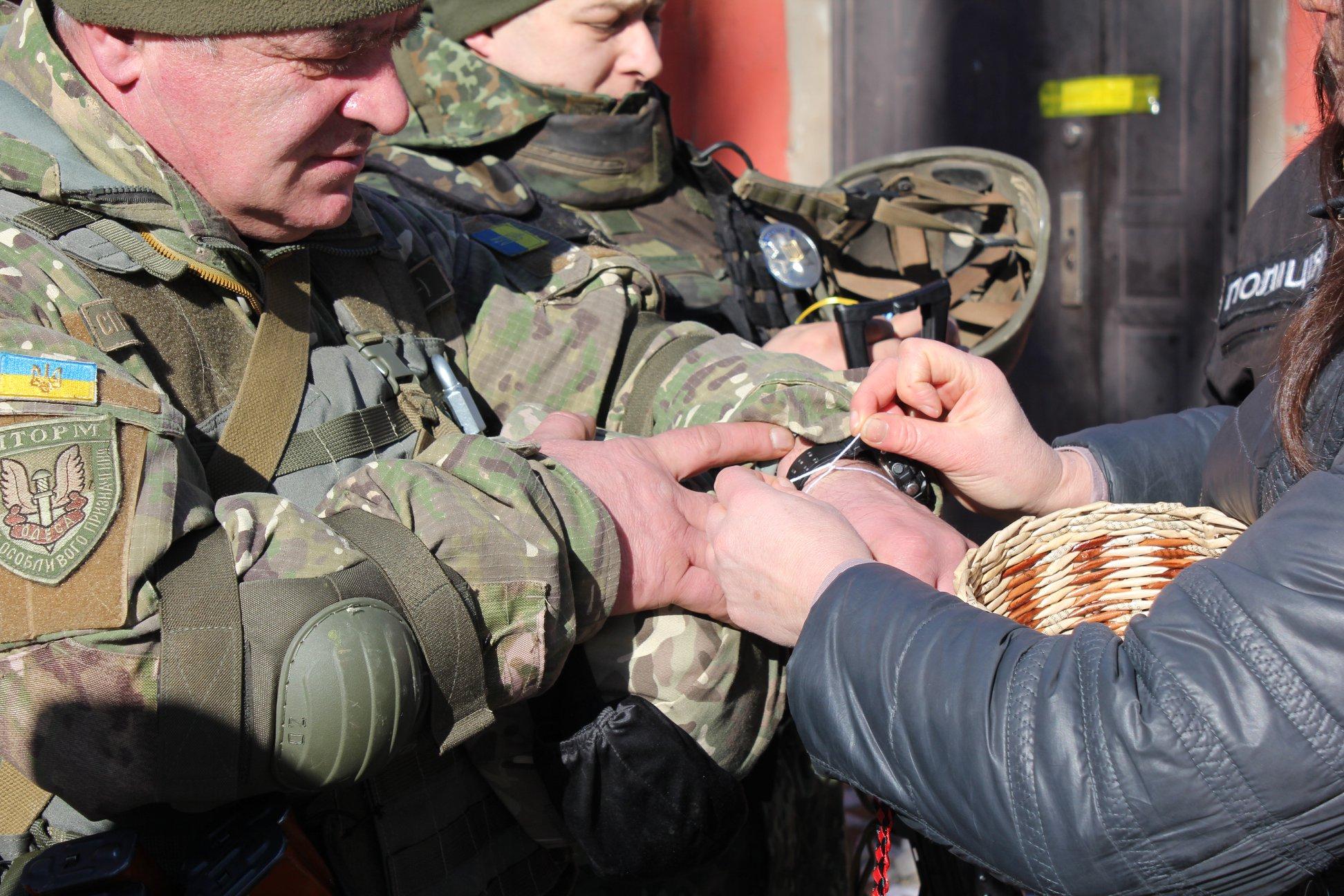 Одесские правоохранители отправились в зону АТО
