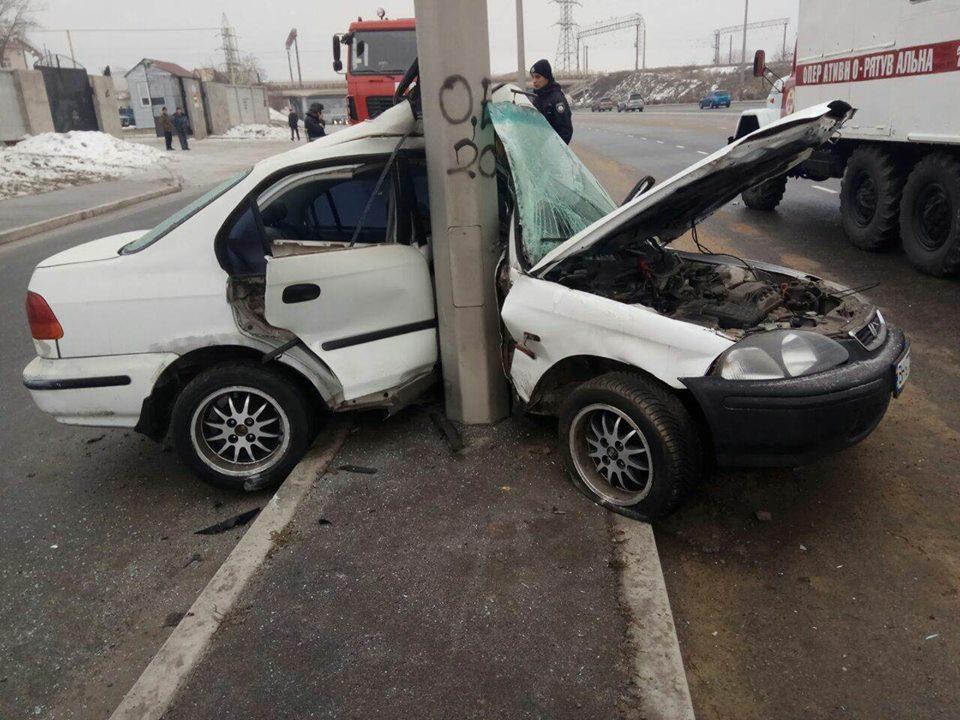 На Заводской произошло серьезное ДТП