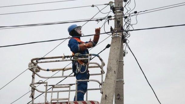 В Одесской области почти две сотни населенных пунктов остаются без электричества