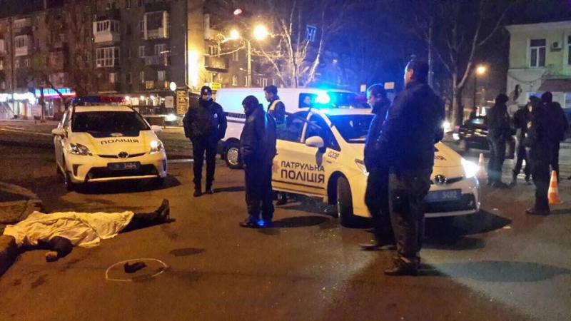 Ночью в центре Одессы насмерть сбили пешехода