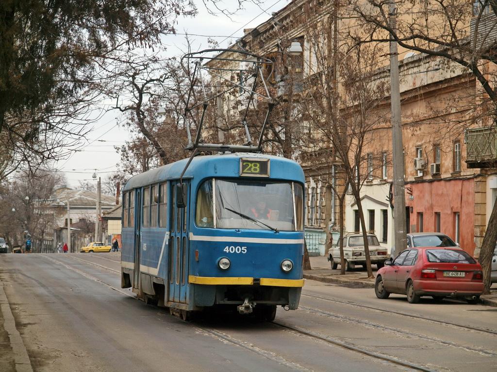 Работа общественного транспорта в Одессе во время Крещенских купаний