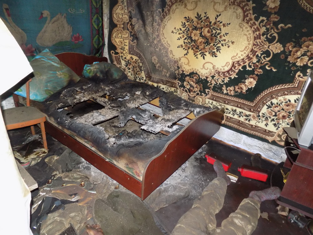 В Одесской области пожар унес жизнь мужчины