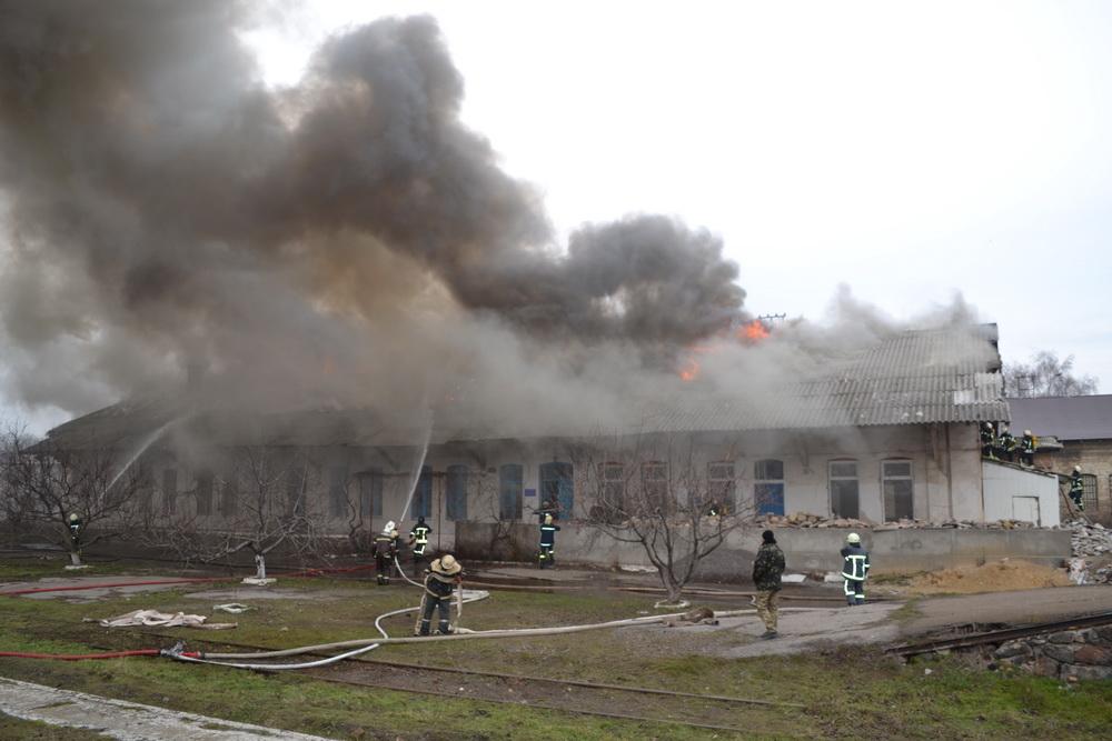 Пожар на «Одессе-Товарной»: найдено тело погибшего мужчины
