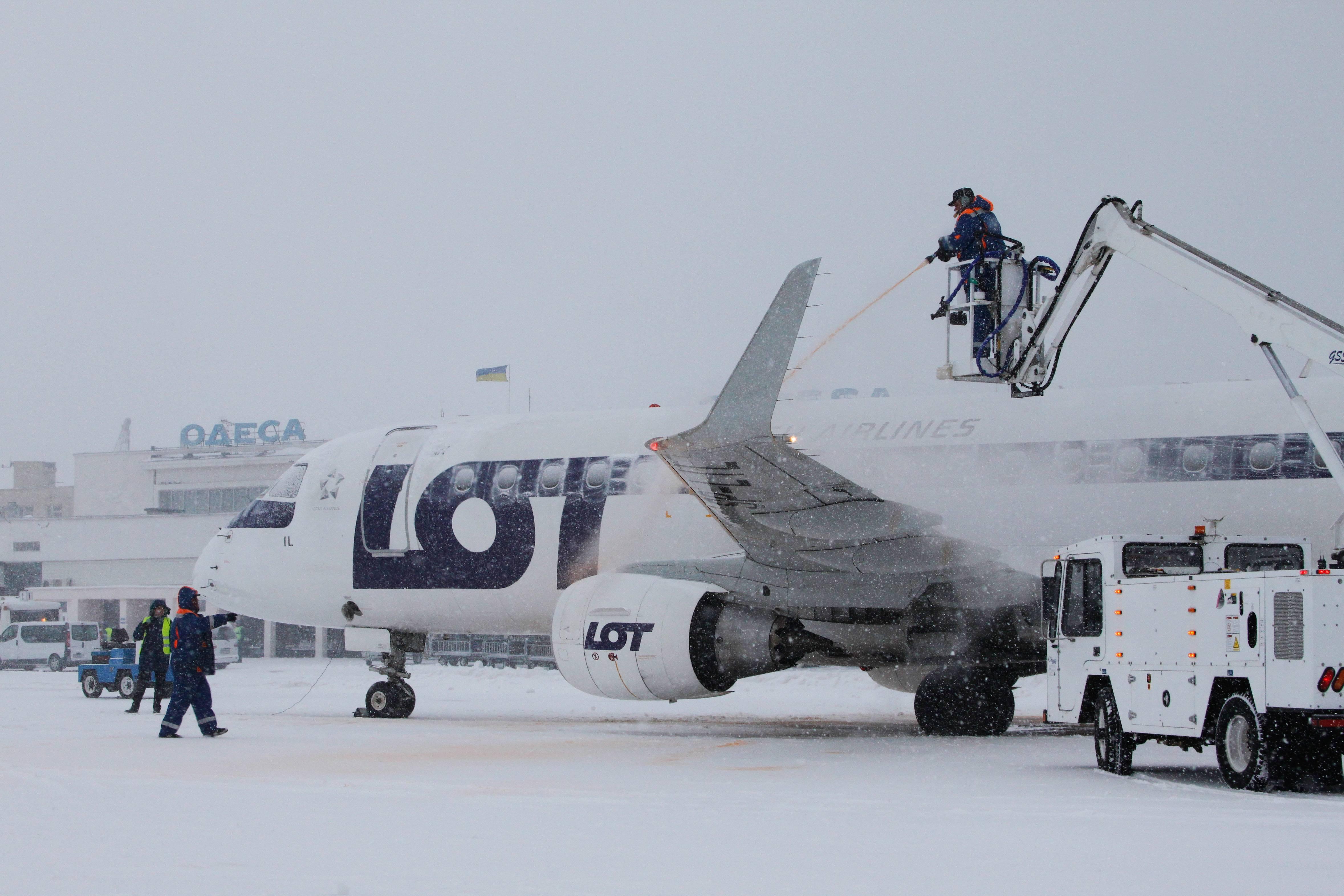 Одесский аэропорт работает в штатном режиме