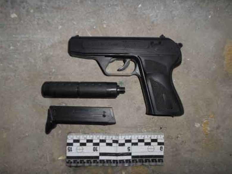 Измаильчанин с игрушечным пистолетом пытался ограбить магазин