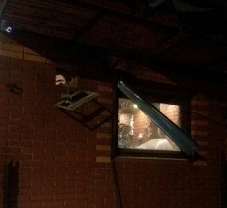 В Одесской области кафе расстреляли из гранатомета
