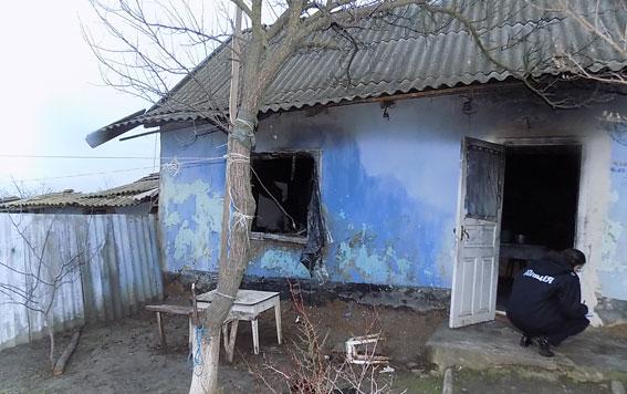 Житель Одесской области убил женщину и сжег ее дом