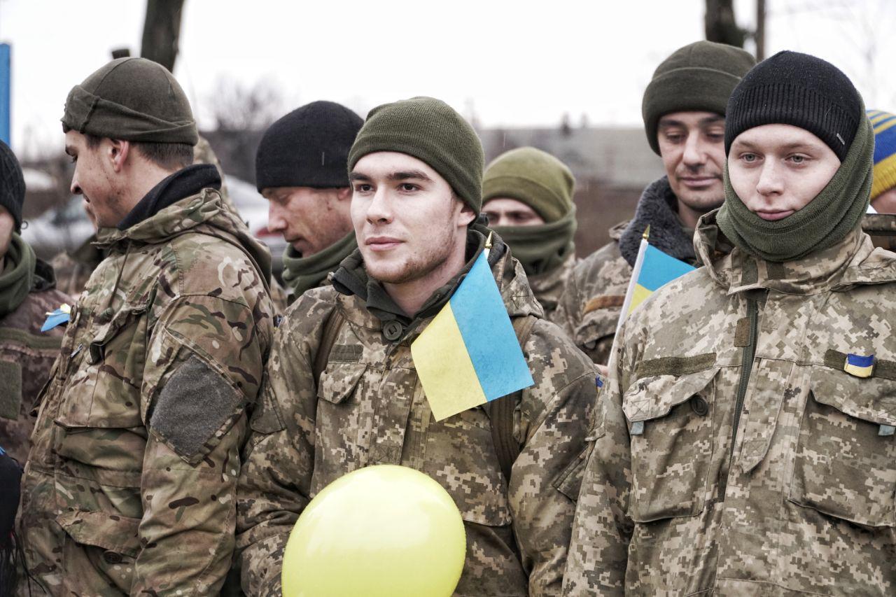 Одесская мехбригада возвращается домой из зоны АТО