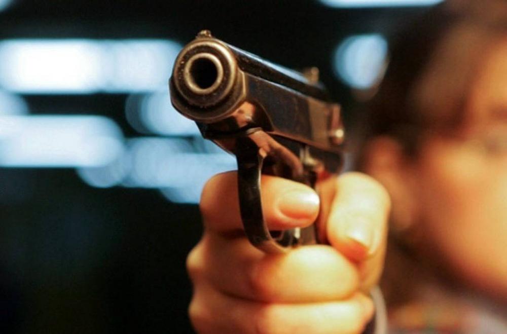 На Успенской сотрудники охранных фирм устроили стрельбу
