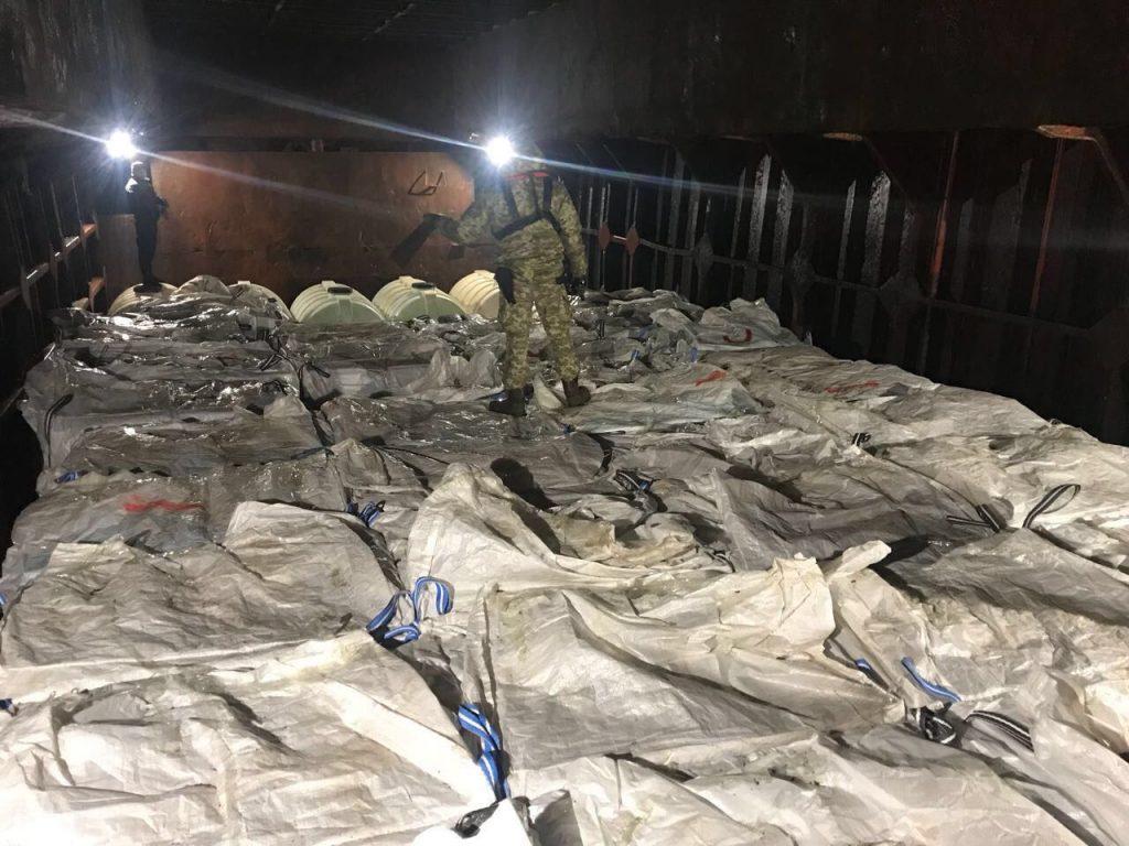 В Черном море задержали иностранное судно с контрабандой