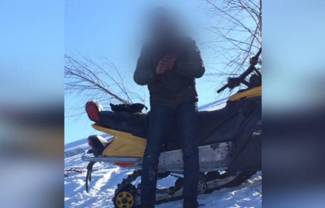 Пьяный житель Закарпатья на снегоходе сбил двух одесских туристов