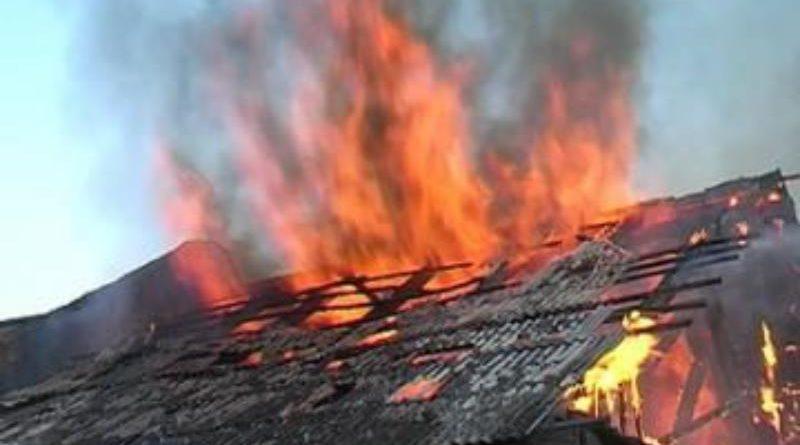 Одесская область: пожилой мужчина погиб в горящем доме