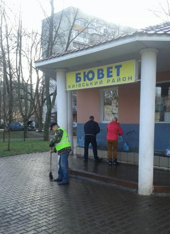 Одесские коммунальщики провели большой субботник