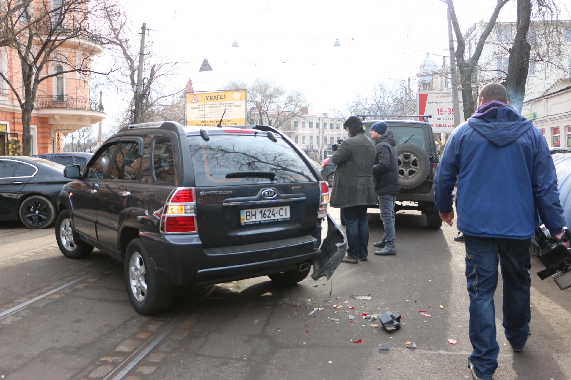 ДТП на Софиевской перекрыло дорогу машине скорой помощи
