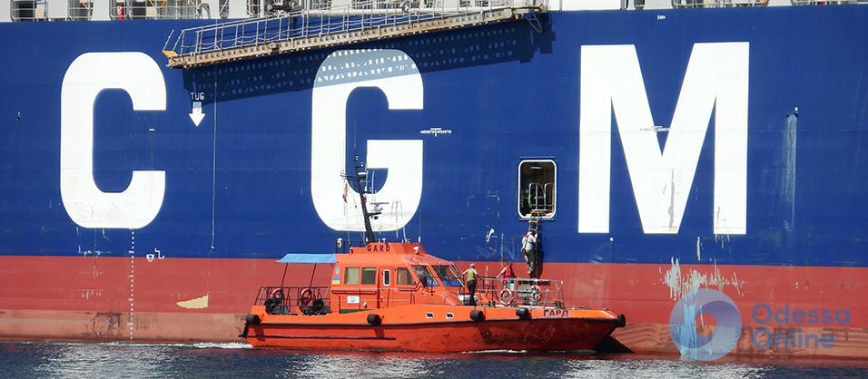 Одесский порт принял «юбилейный» контейнеровоз-«босформакс»