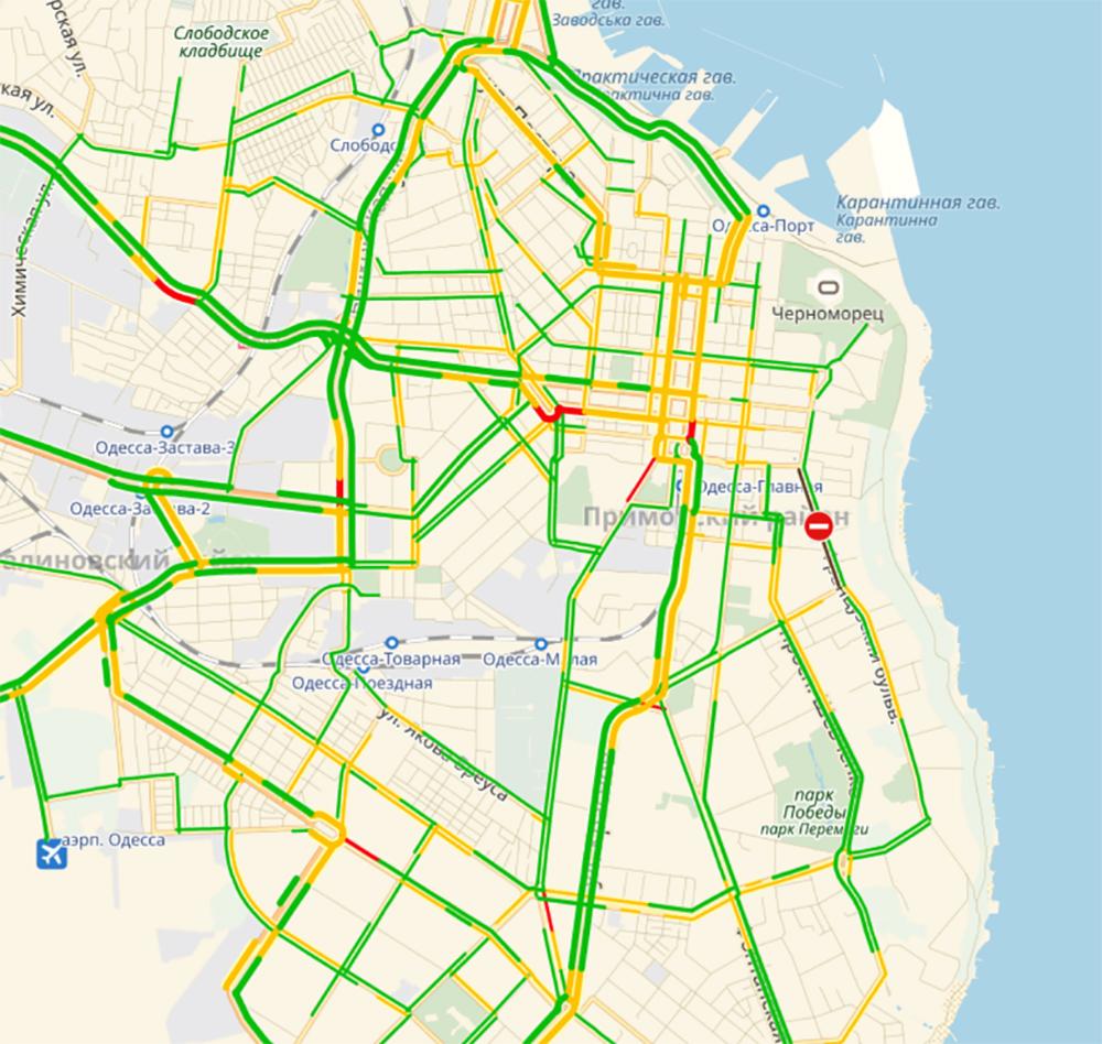 Одесские пробки: по Николаевской дороге лучше не ехать