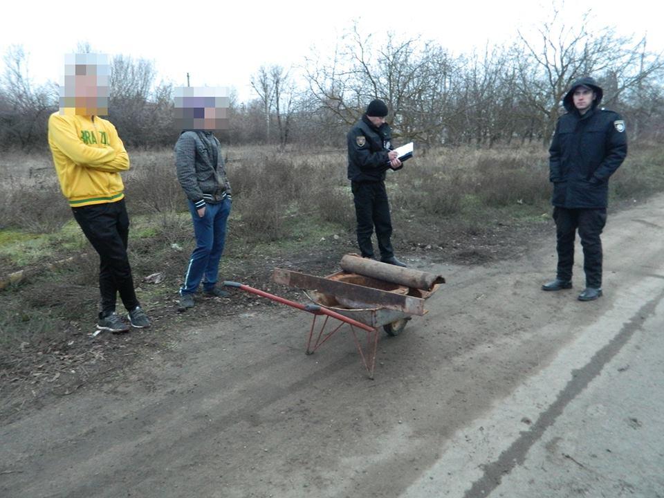 В Одесской области поймали «охотников» за металлоломом