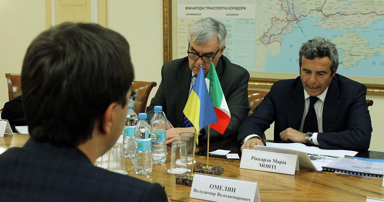 Италия поможет строить евроколею Одесса — Киев — Львов