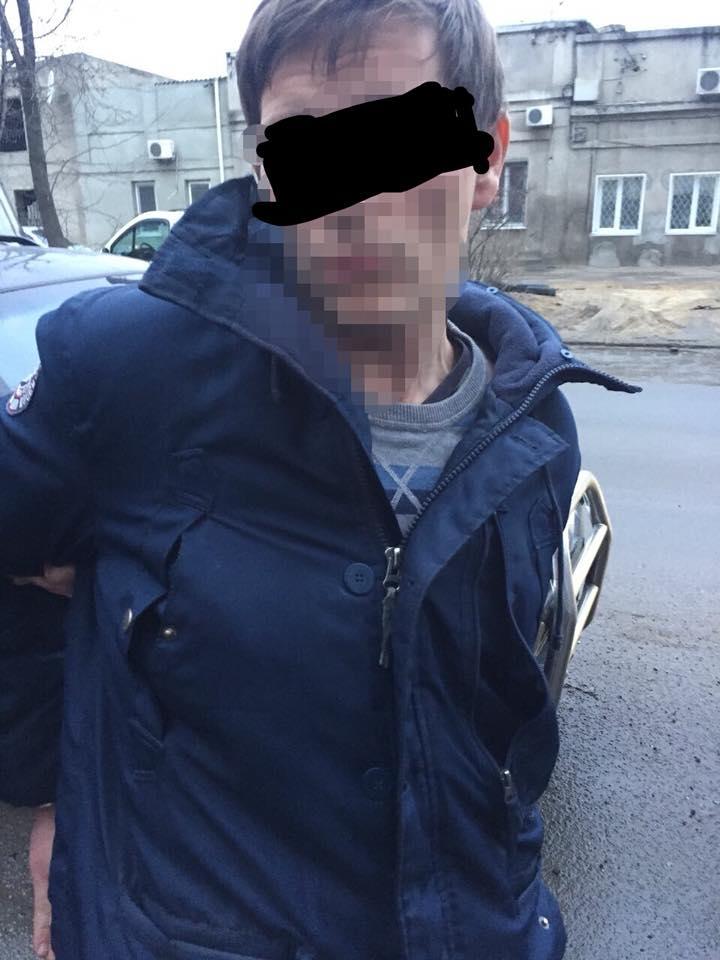 Правоохранители задержали «ковбоя» с Молдованки