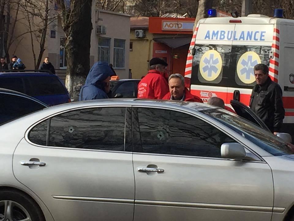 В Одессе снова стрельба: задержали автоворов