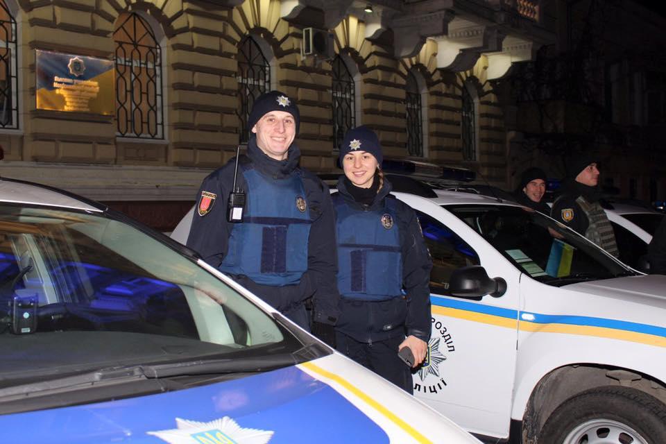 В январе одесские патрульные отработали 18 тысяч вызовов