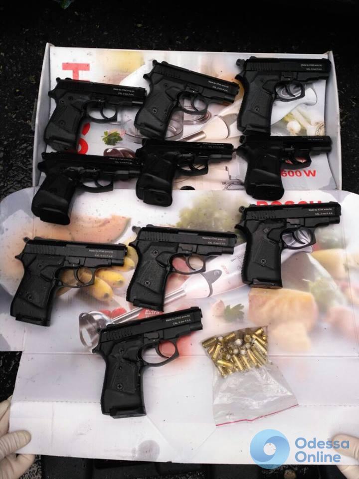 СБУ и прокуратура перекрыли канал контрабанды оружия в Одесской области (фото)