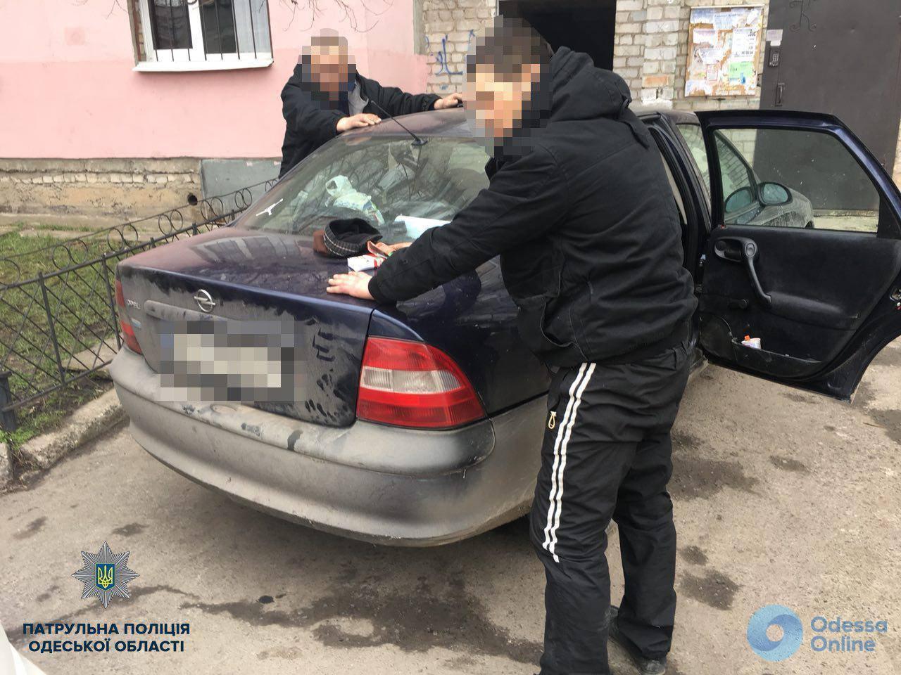 Одесские патрульные задержали угонщиков