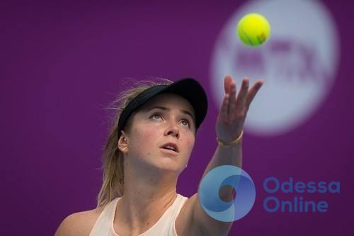 Одесситка покидает тройку лидеров рейтинга WTA