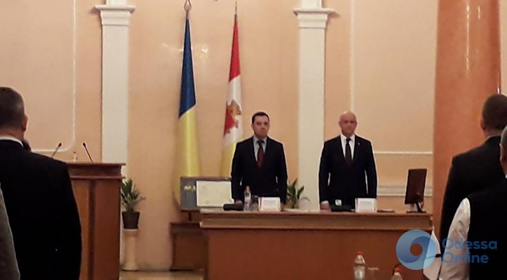 Одесса: сессия горсовета стартовала, Труханов на рабочем месте