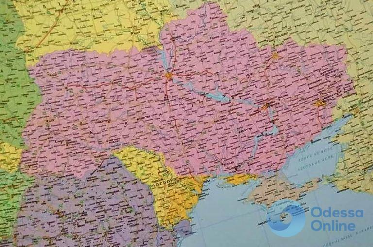 Венгерские картографы вычеркнули Одессу из состава Украины