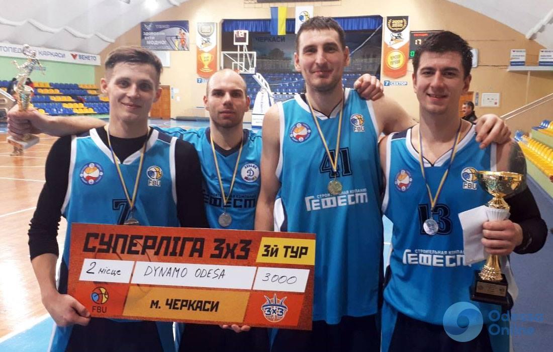 В финальном этапе украинской Суперлиги по баскетболу 3х3 сыграют обе одесские команды